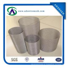 Malha de arame de aço inoxidável de alta qualidade 304 / malha de filtro