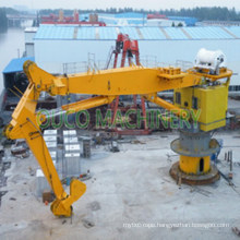 100t Knuckle Boom Offshore Crane with Heavy Lifting ABS Hydraulic System