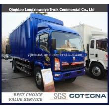 Cabina individual 95HP Carga 3 toneladas de camión ligero HOWO