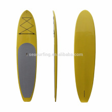 2018 NUEVO DISEÑO Stand up paddle pad board / SUP racing board / tablero de paddle de fondo de cristal