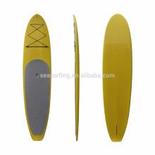2018 NOVO DESIGN placa de stand up paddle / SUP placa de corrida / placa de pá de fundo de vidro
