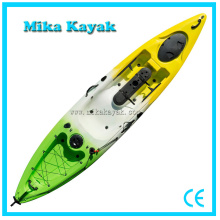 Single Fishing Mika Kayak with Pedals & Rudder LLDPE Boat