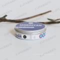 Frasco de alumínio etiquetado de 200g para o creme do Skincare