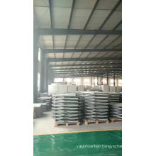 Supply and Install pressed galvanised steel sectional tank with steel tower 15m