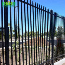 used steel black wrought iron fencing