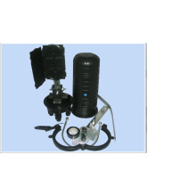 Fermeture de joint de fibre optique de fermeture d'épissure de fibre