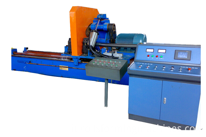 sizing of pipe machine