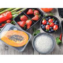 PP para microondas aptos para llevar desechables comida contenedor de cocina