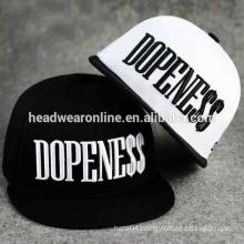 Wholesale Yupoong Blank Plain Good Quality Custom Embroidery Two Tone Basketball Snapback Hat