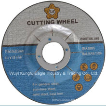 Resin Bond 4.5 Inch Abrasive Grinding Wheel