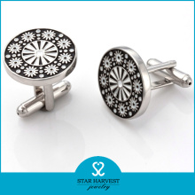 Hot Luxuries Silver Cufflinks (SH-BC0017)
