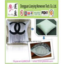 Almohada de lino de algodón de moda de espalda
