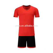OEM fornecer novo design de futebol jersey venda quente crianças uniforme escolar