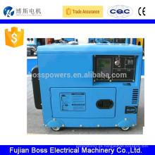5KW Generador portátil de energía doméstica diesel
