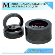 Graphite bearing and seal ring for mechanical usage