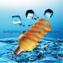11ВТ желтый цвет лампы Комаров энергосберегающие лампы (БНФ-г)