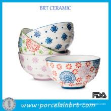 Inicio Ensalada Perro Sopa de cerámica Pet Japanese Noodle Set Fruit Bowl