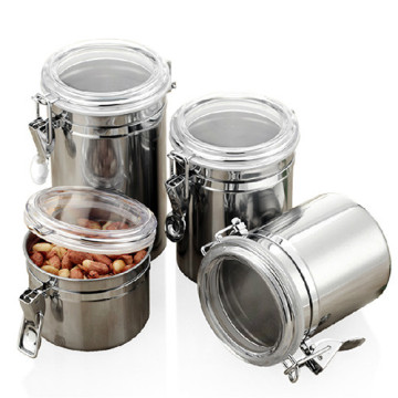 ChaoZhou stainless steel sealed Canister