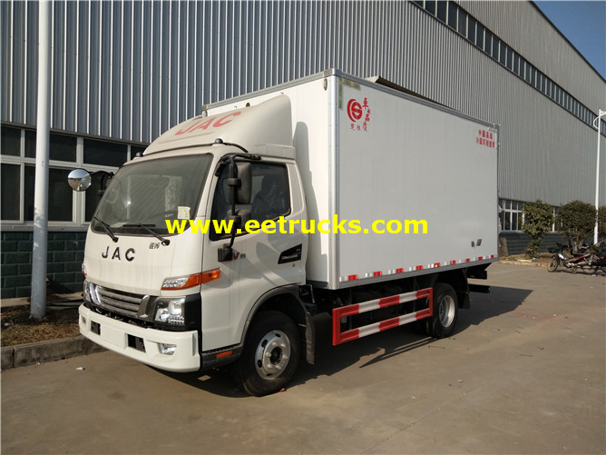 JAC Refrigerated Van Trucks