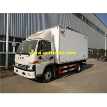Camiones frigoríficos JAC de 120 CV