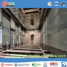 Вытравило лист нержавеющей стали для двери лифта