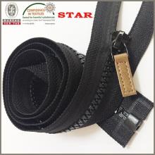 Open End Plastic Zipper für Jacke (# 5)