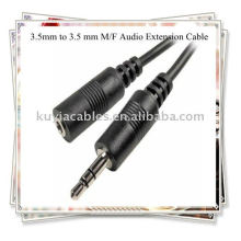 3.5mm to 3.5 mm cable, M/F Audio Extension Cable
