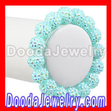 Cheap Resin Beads Basketball Wives Bracelet Jewelry Wholesale