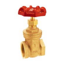 Gate Valve - Brass, Full Port, Female Threaded