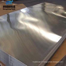 Nouveau design 1060 Bonne Résistance à la Tension Épaisse Couleur T-Slot Plaque Aluminium avec bas prix