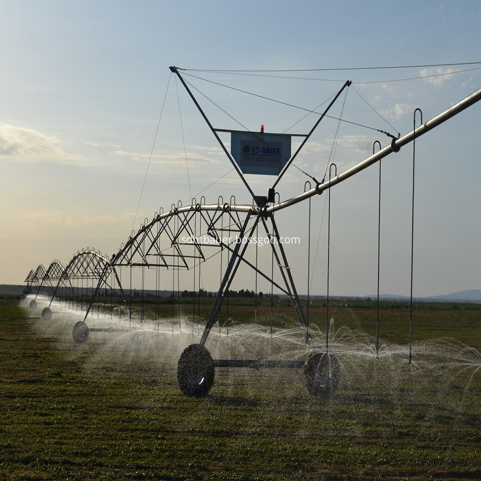 Agricultural Pivot Irrigation System