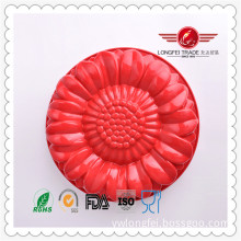Round Sunflower Shape Lace Silicone Mould