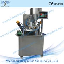 Máquina automática de sellado de vasos de PP de 115 mm