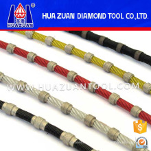 Rubber Diamond Wire Saw for Granite Shaping