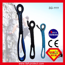 CE High Breaking Load Climbing Nylon Sling pour Quickdraw