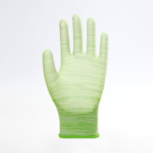 Hot Popular Stripe PU Safety Work Gloves