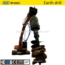 earth drill auger for excavator bobcat excavator parts hot sale