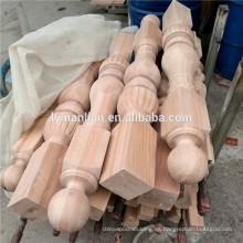 Husillos de escalera de madera