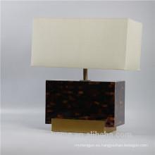 Canosa ECO-friendly pluma lámparas de mesa de la cáscara