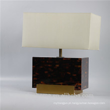 Canosa ECO-friendly caneta shell lâmpadas de mesa