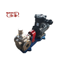 high efficiency large flow YCB10-0.6 stainless steel lubricating Oil arc gear pump from China