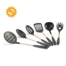 Ferramentas de cozinha de nylon multifunções, diferentes tipos de utensílios de cozinha