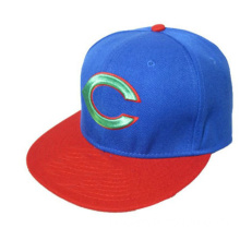 Navy Blue and Red Baseball Cap/Hat