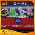 Respectueux de l'environnement pas de bougies d'anniversaire bougies animées