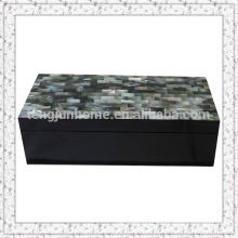 Black MOP Boîte de rangement avec peinture noire Grande taille