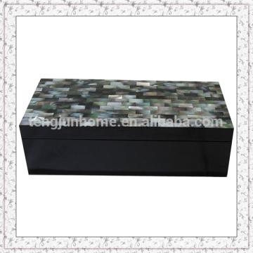 Boîte à bijoux en perle pour cadeau de luxe