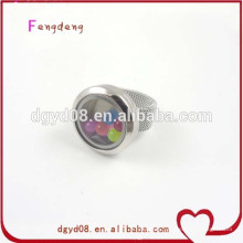 Wholesale stainless steel gold ring