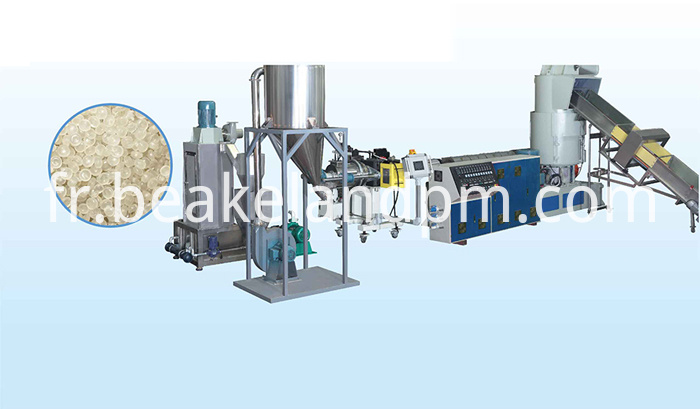 High Quality Compactor Pelletizing Line