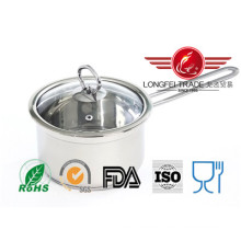 16cm Stainless Steel Mik Hot Pot