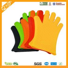 FDA Standard Hitzebeständige Lebensmittel Grade Silikon Barbecue Handschuh